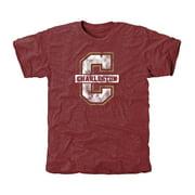 Charleston Cougars Classic Primary Tri-Blend T-Shirt - Maroon