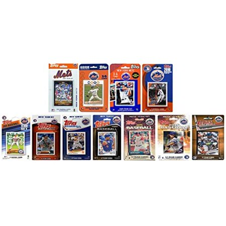 METS1117TS MLB New York Mets 11 ensembles d--quipes de cartes - collectionner sous licence - image 1 de 1