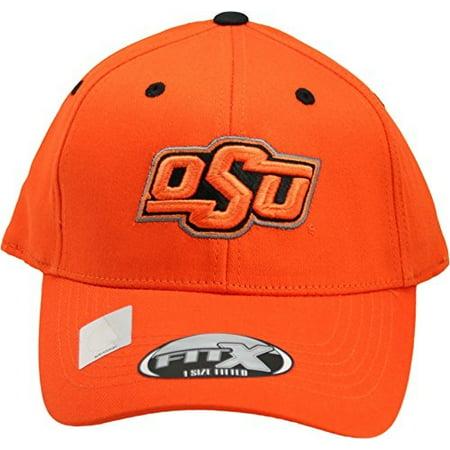 NCAA Oklahoma State Cowboys One-Fit Flex Hat Orange