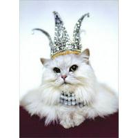 Avanti Press Princess Kitten Birthday Card