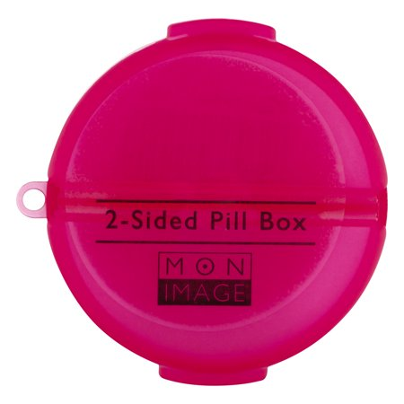 Mon Image 2 Sided Pill Box