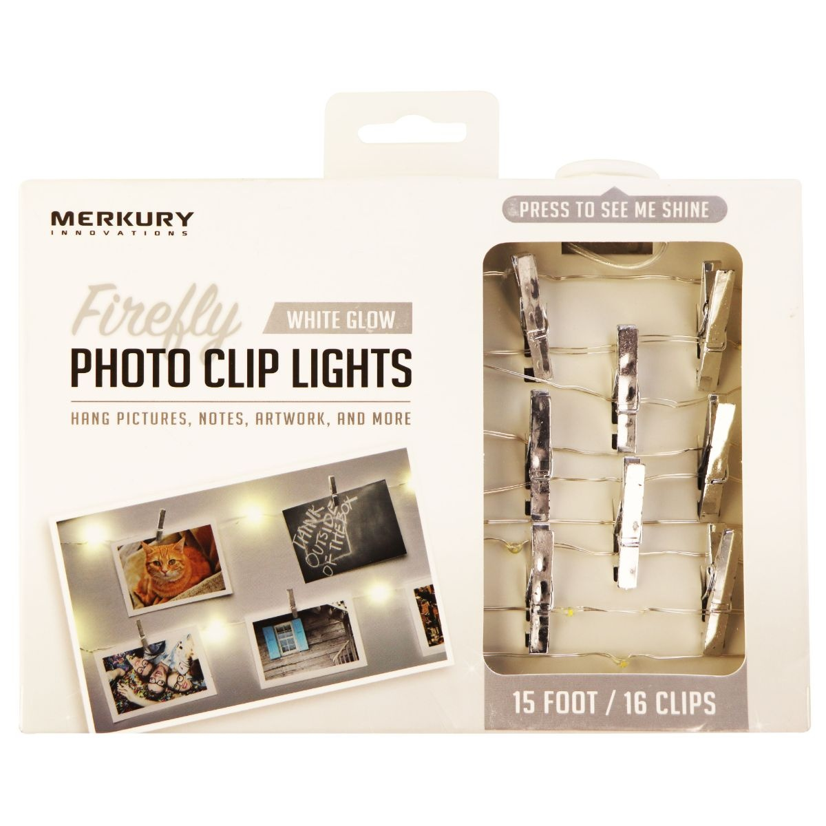 Merkury Innovations Firefly Photo Clip Lights