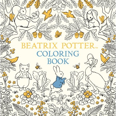 The Beatrix Potter Coloring Book (Paperback)