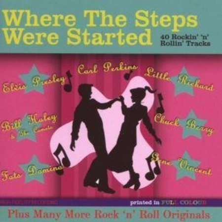 Where The Steps Were Started   Where The Steps Were Started  Cd