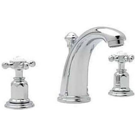 Rohl U3761 Perrin And Rowe Widespread Bathroom Faucet With Pop Up Drain Available In Various