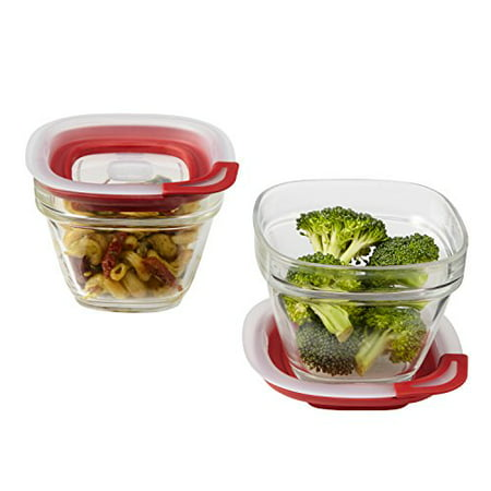 Rubbermaid 354 mL Glass Food Storage (250 Ml Food)