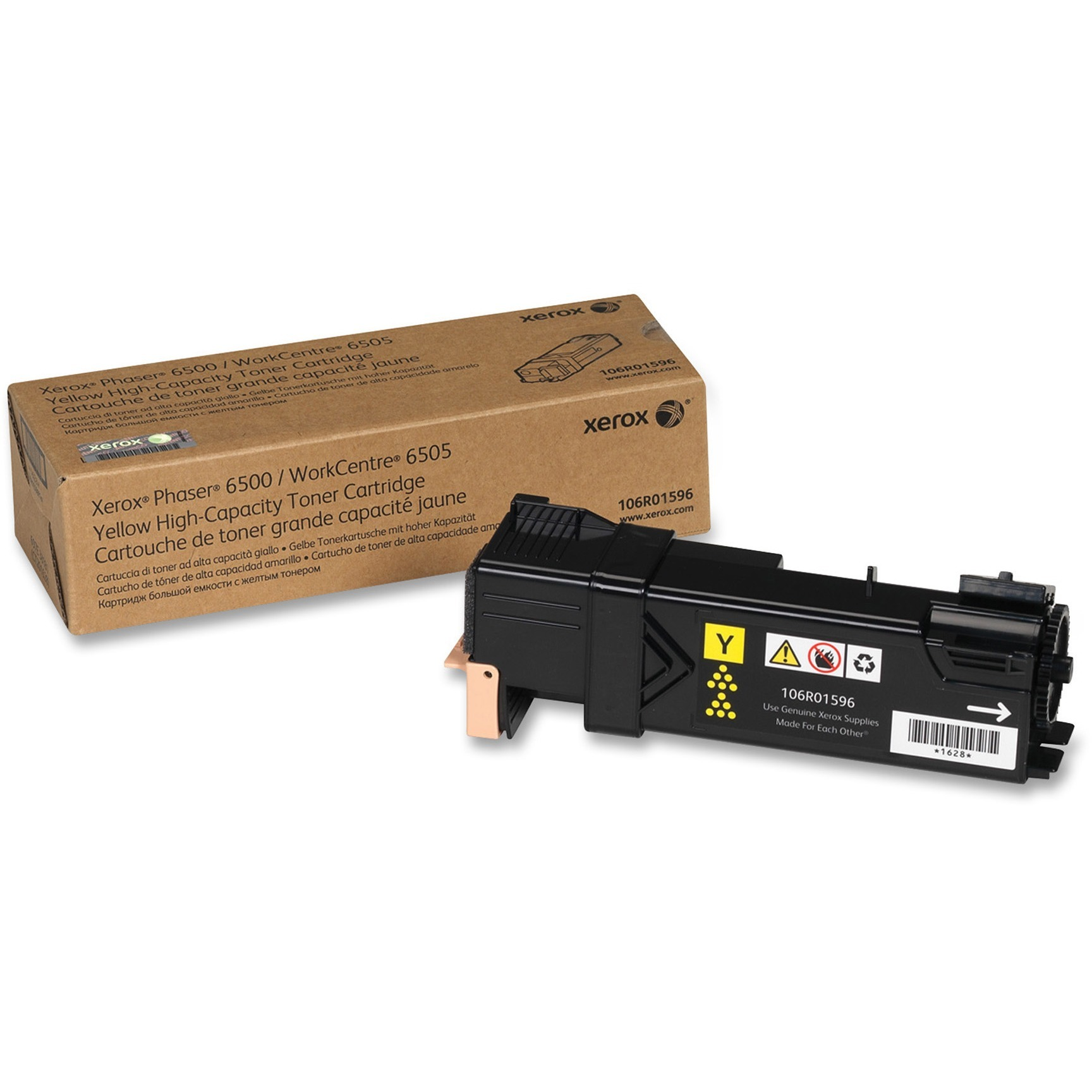 Xerox, XER106R01596, 106R01594/95/96/97 Toner Cartridges, 1 Each