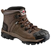 Men's Leather Steel Toe Puncture Resistant Work Boot