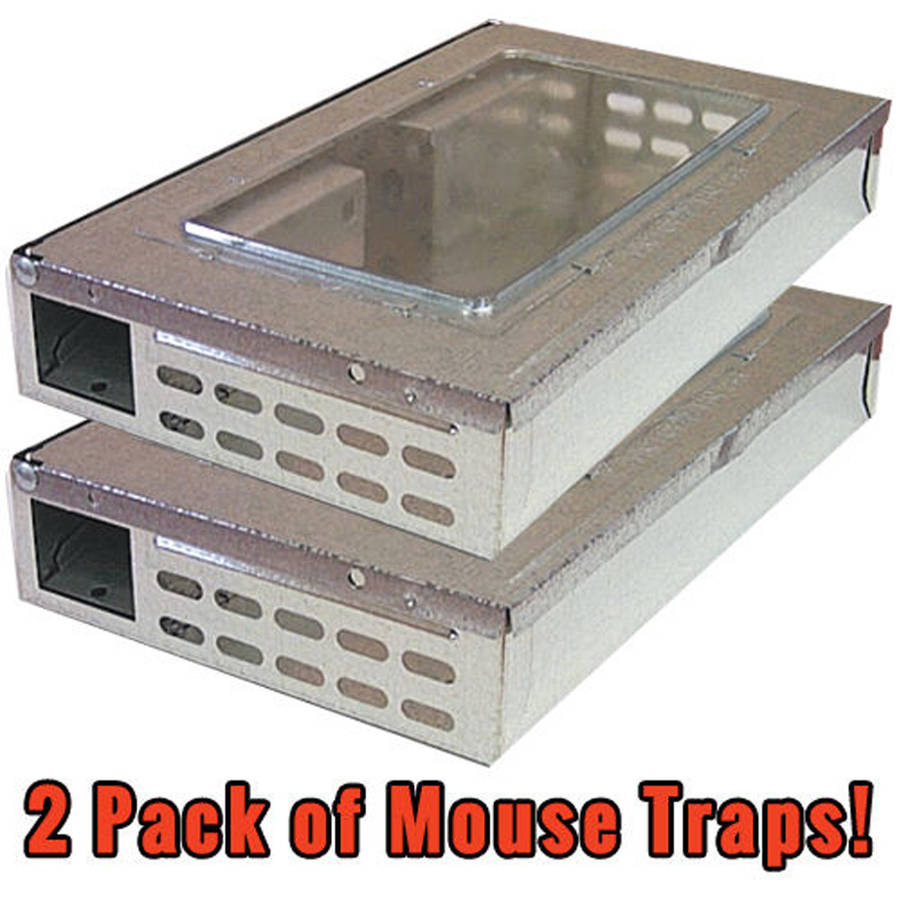 Southern Homewares 2pk Multi-Catch Professional Humane Repeater Mouse/Mice Trap Rodent Control