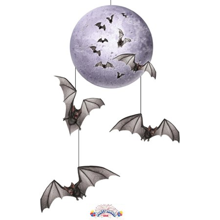 Beistle Halloween Mobile Hanging Party Decorating Item, 30-Inch - Halloween Bedroom Decorating Ideas