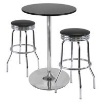 "Summit 3-Pc Pub Table Set, 28"" Table and 2 Stools"