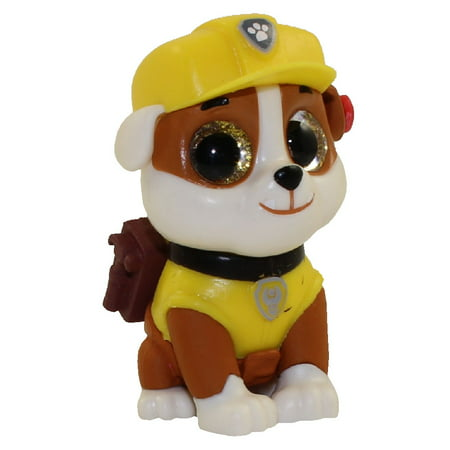1688743a4ff TY Beanie Boos - Mini Boos Paw Patrol Figure - RUBBLE (2 inch) - Walmart.com