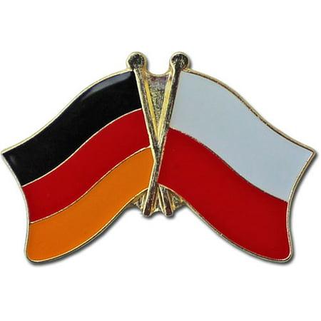 Germany Poland (Plain) Friendship Pin
