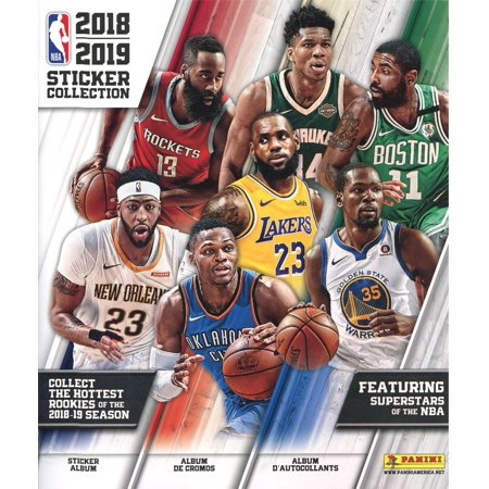 NBA Basketball 2018-19 Sticker Collection Album