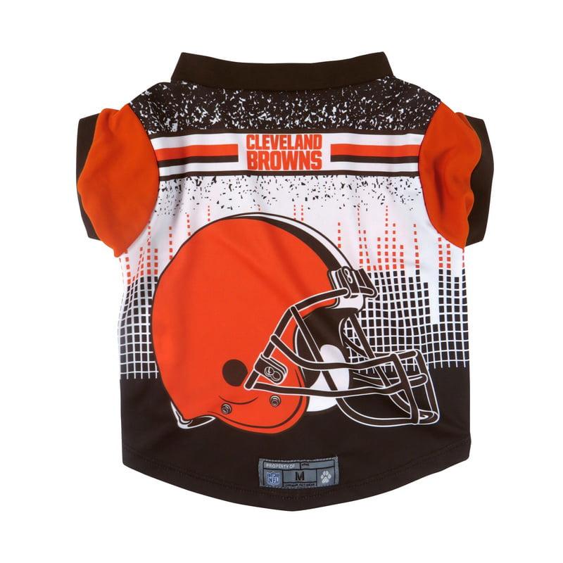 Cleveland Browns Pet Performance Tee Shirt Size M
