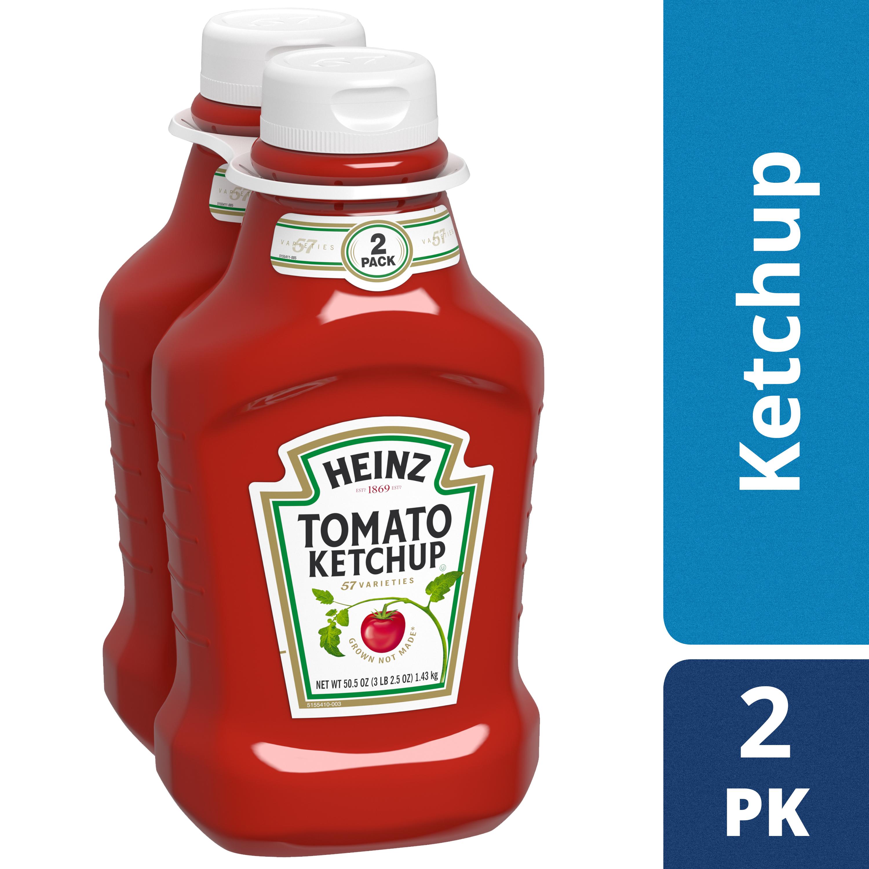 Heinz Tomato Ketchup, 2 - 50.5 oz Multipack