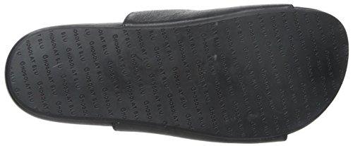 Chocolat Blu Women's Odeon Sandal, Black, 36.5 M EU/6.5 M US