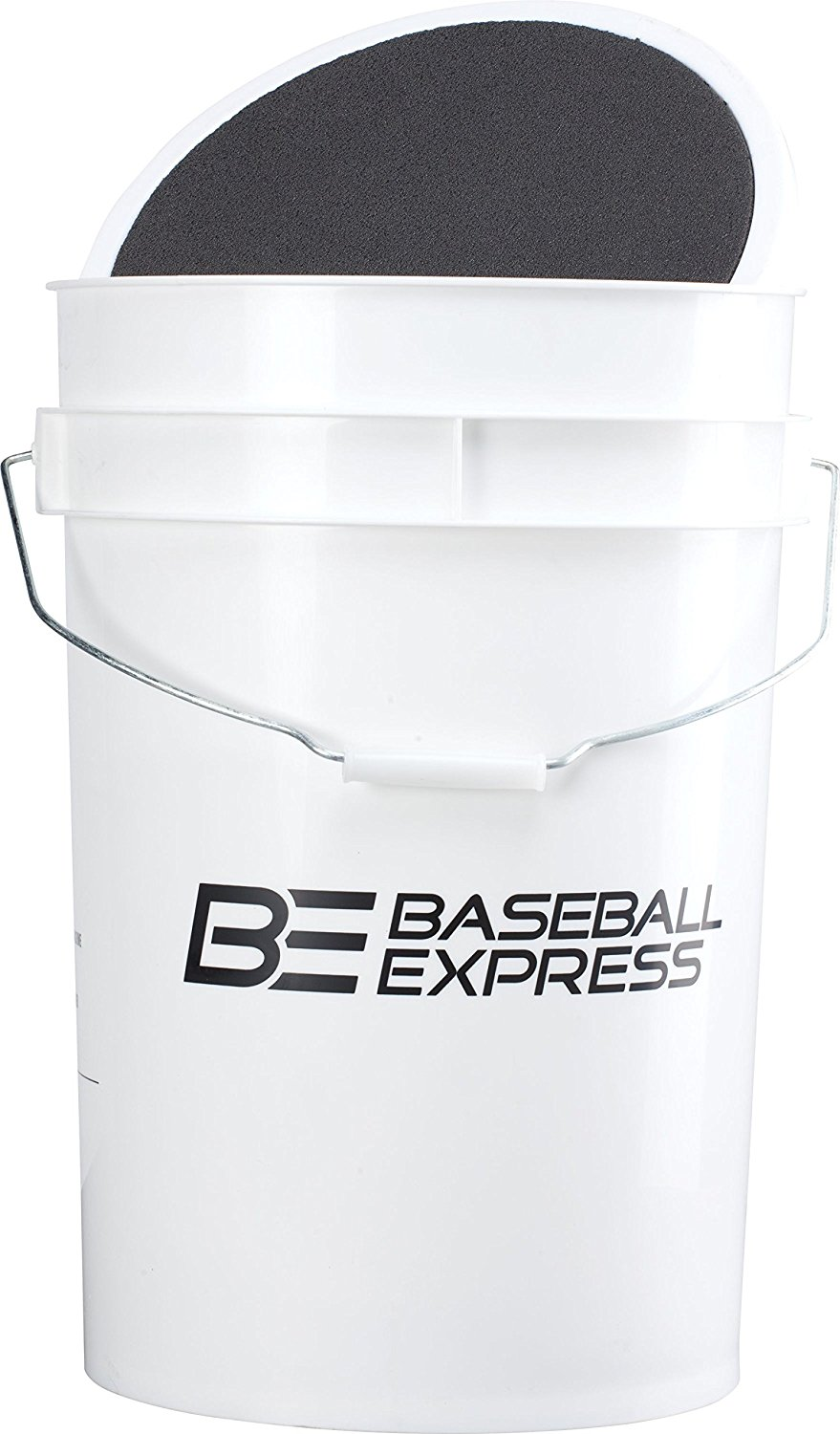 Baseball Express Empty Ball Bucket With Padded Lid Keep Your Practice Away From Moisture