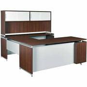"Regency Seating OneDesk 71"" U-Desk with Hutch"