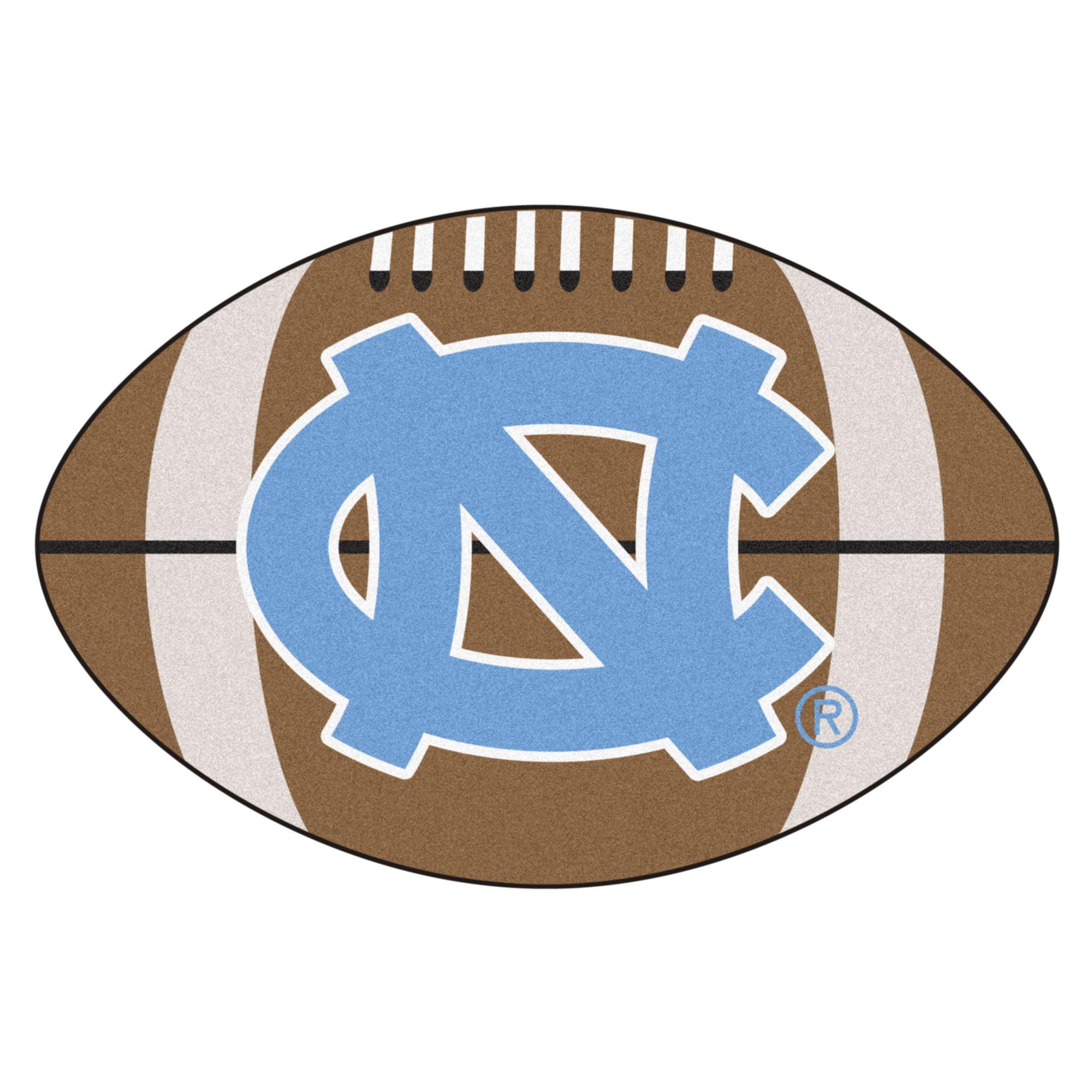 North Carolina Football Rug 20 5 Quot X32 5 Quot Walmart Com