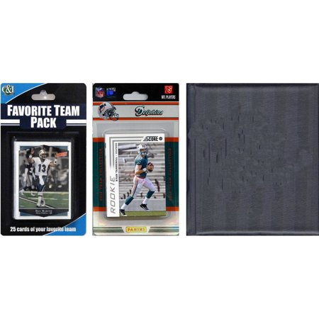 C&I Collectables NFL Miami Dolphins Licensed 2012 Score Team Set and Favorite Player Trading Card Pack Plus Storage Album](Halloween Stores Miami)