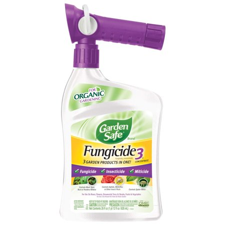 Garden Safe Brand Fungicide3 Concentrate, Ready-to-Spray, 28-fl oz
