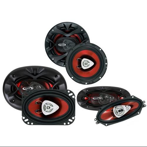 """2)  BOSS CH6520 6.5"""" 250W + 2) 4x6"""" 250W + 2) 4x10"""" 400W Car Speakers Package"""
