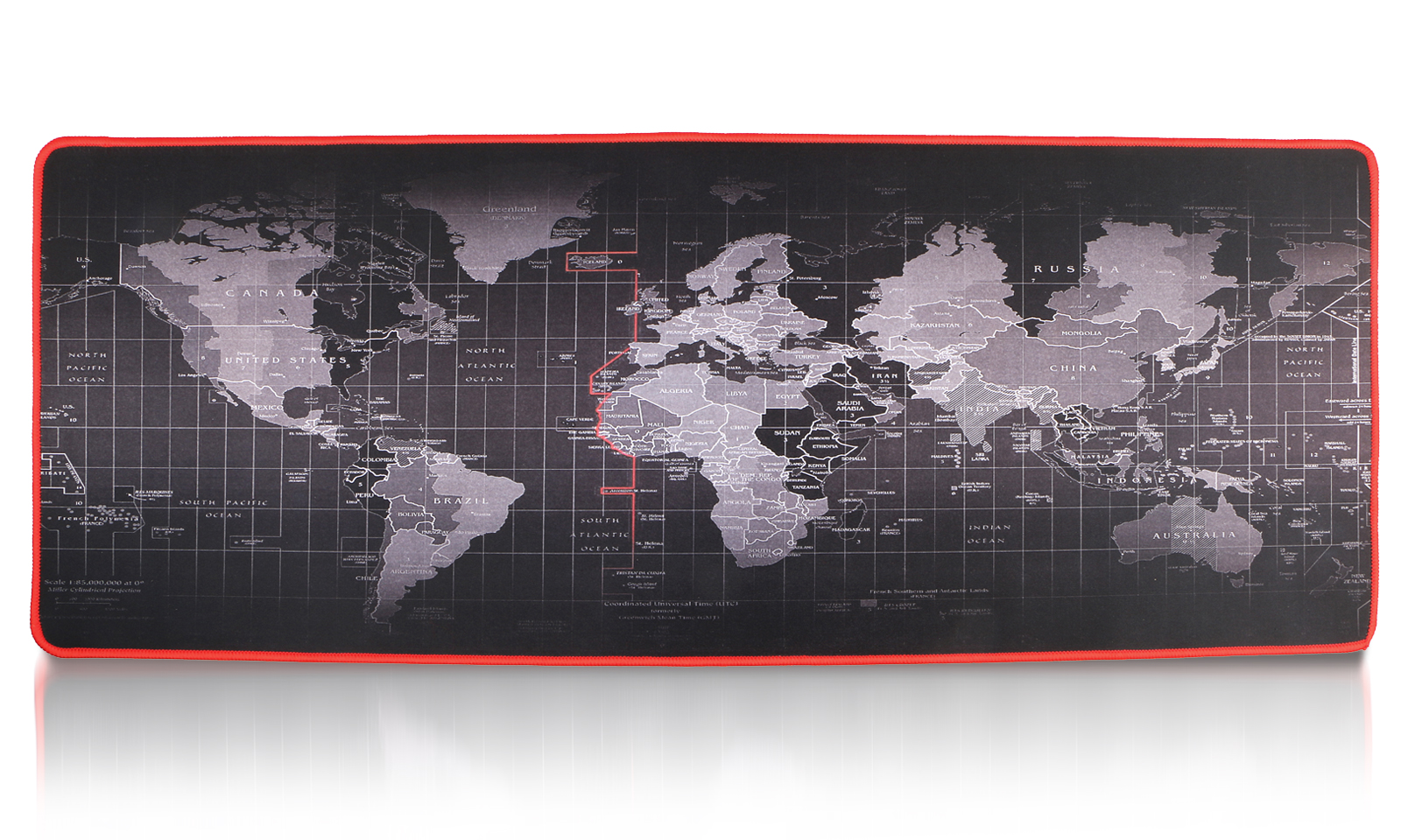 Tsv Extended Mouse Pad Xxl World Map E Sports Gaming Mouse Mat