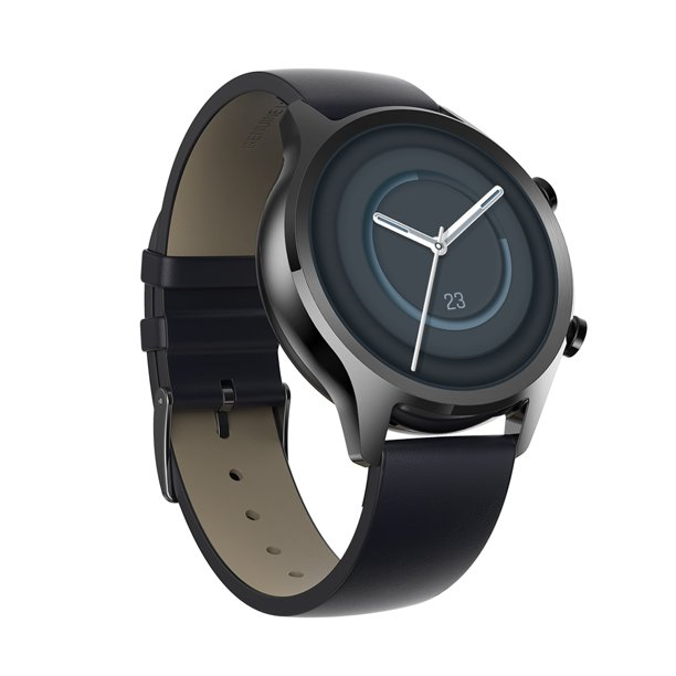 TicWatch C2+ 1GB RAM Wear OS by Google GPS NFC Payment Waterproof Smartwatch, Two Straps Included (C2+ Onyx)