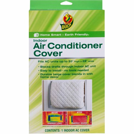 Duck Brand Indoor Air Conditioner Cover Walmart Com