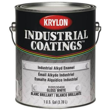 Paint 52 Series Industrial Alkyd Enamel White 1 Gallon per 2 Each (White Enamel Paint)
