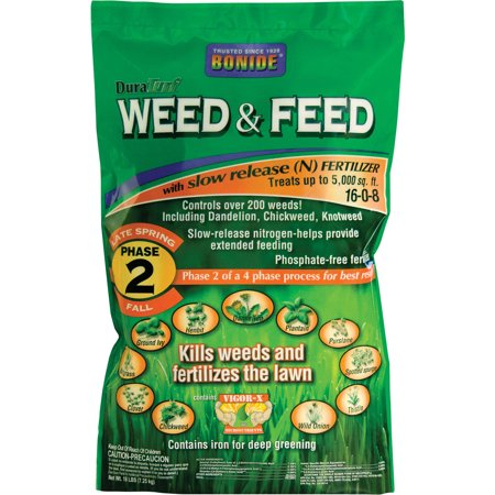 Bonide Fertilizer-Duraturf Weed & Feed For Lawns- Phase 2-late Sp 5000 Sq