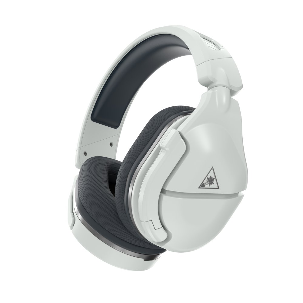 Stealth 600 Gen 2 Wireless Gaming Headset with Superhuman Hearing, White/Silver, Turtle Beach, PlayStation 4, PlayStation 4 Pro
