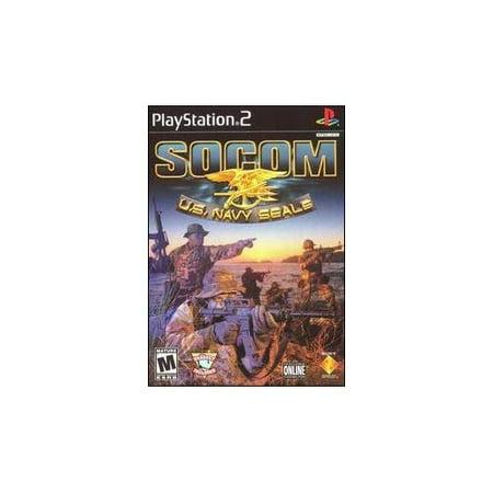Refurbished Socom US Navy Seals No Headset For PlayStation 2