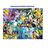 Pokemon Edible Cake Topper Image -- 1/4 Sheet