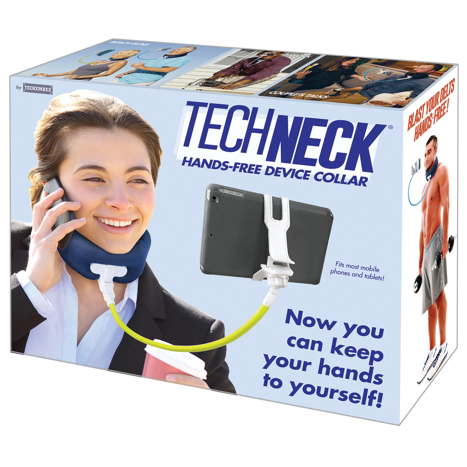 Genuine Fake Gift Box - Tech Neck - Funny Faux Product
