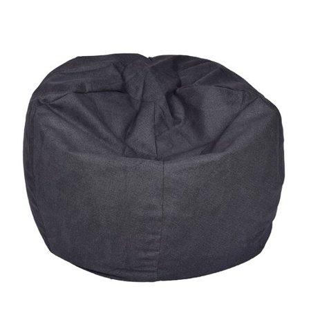 Xlarge Brushed Denim Bean Bag, Multiple ()