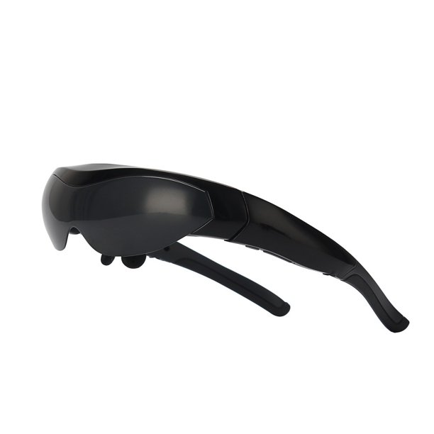 A Unity System Maono AUS-ALL62 3D Video/Virtual Reality LCD Glasses with Built-in Android, WiFi, Touch Screen - Black
