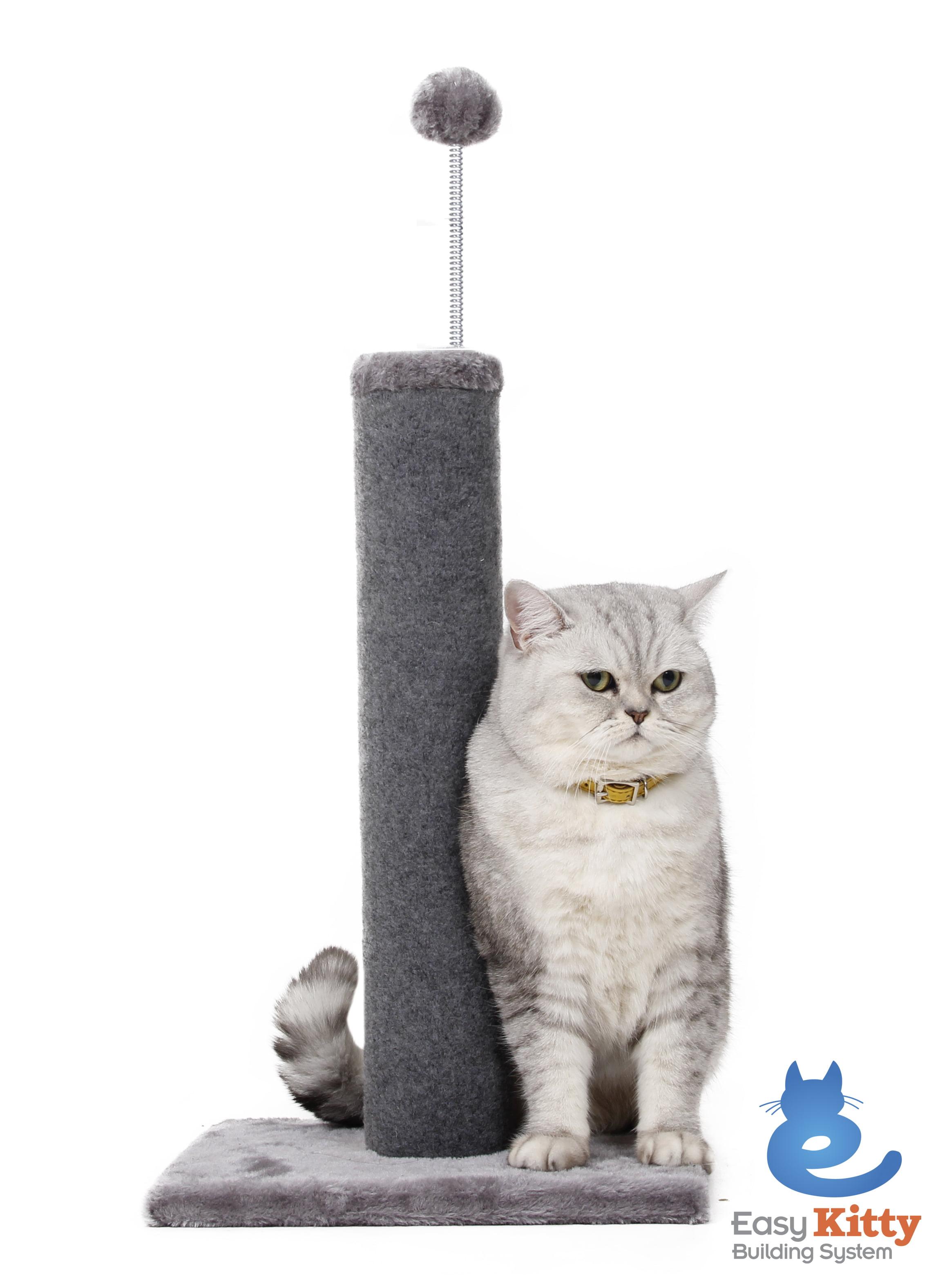 Cat Craft Carpet Scratching Post, Grey by One Source International, LLC