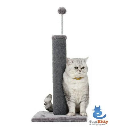 Cat Craft Carpet Scratching Post, Grey (Cat Scratching Post Tall)