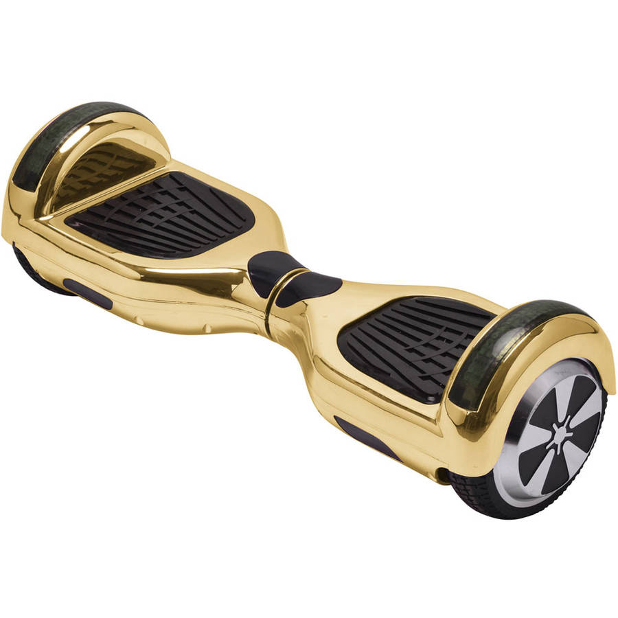 MotoTec Hoverboard Scooter 36v 6.5in Gold Chrome (Bluetooth)