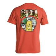 Live Oak Brand Georgia License Plate T-Shirt