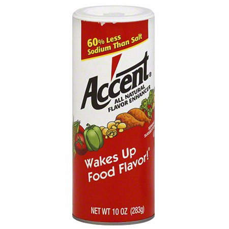 Acenti Natural (Accent All Natural Flavor Enhancer, 10 oz, (Pack of 12) )