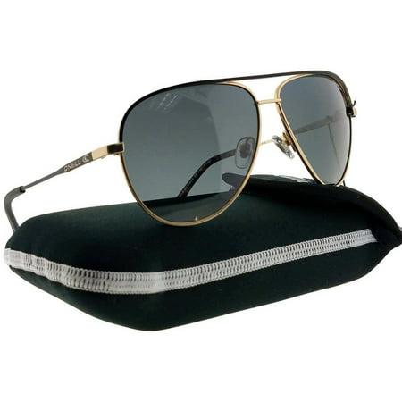 O'Neill ONS-WAKE-004P-60 Unisex Gold Frame Grey Lens Polarized Sunglasses (Oneill Sunglasses)