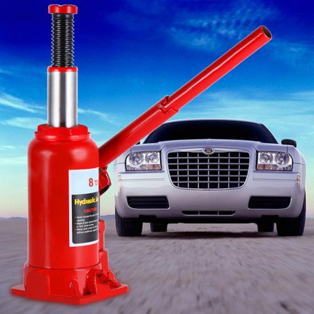 Ejoyous Bottle Jack, 8T Portable Hydraulic Bottle Jack Automotive Life for Car Truck Caravan Tractors, Car Lift ()