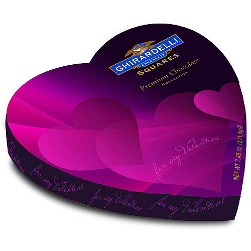 Ghirardelli Premium Chocolate Valentine's Collection, 7.45 oz