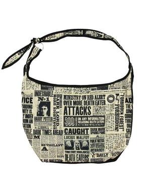 834e69044ea Product Image Hobo Handbag Harry Potter Daily Prophet Shoulder Hogwarts  Crossbody Bag Purse. Bioworld