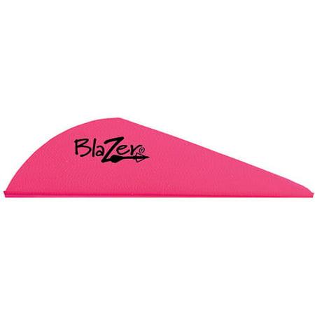 Bohning Blazer Vane, Pack of 100, Hot Pink Bohning Blazer Broadhead Vanes