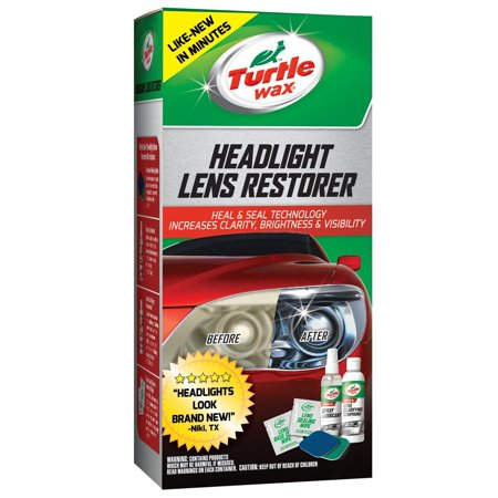 Turtle Wax T240kt Headlight Lens Restorer Kit Walmart Com