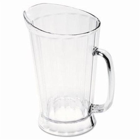 Rubbermaid Bouncer II Plastic Pitcher, 60 oz, Clear RCP 3334 CLE